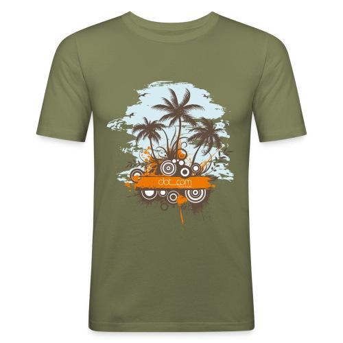 Tropical Paradise - Maglietta aderente da uomo