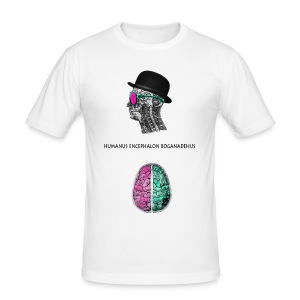 MelonBrain - Männer Slim Fit T-Shirt