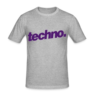 Slim-Fit Shirt techno. #3 - Männer Slim Fit T-Shirt