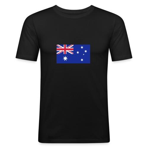 Fanshirt Australien - Männer Slim Fit T-Shirt
