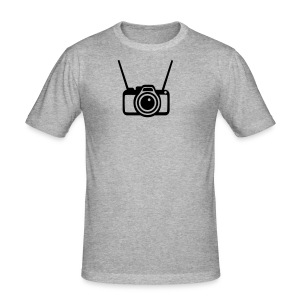 Camera - Men's Slim Fit T-Shirt