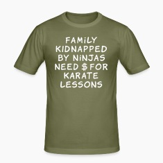 family kidnapped by ninjas need dollars for karate lessons