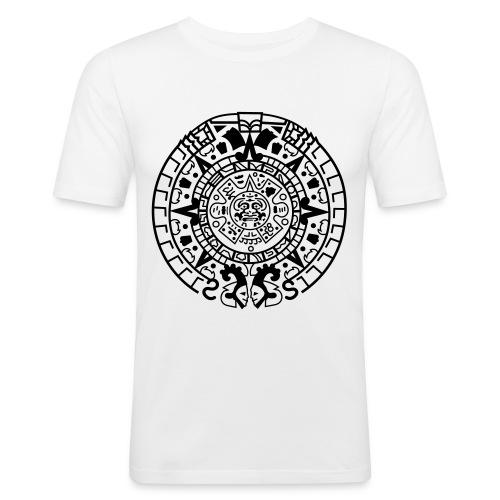 Exclusive Luck CIRCLEPATTERN - Men's Slim Fit T-Shirt