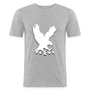 Hollow vains signature t-shirt - Men's Slim Fit T-Shirt