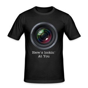 Lookin' At You - Men's Slim Fit T-Shirt