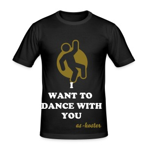 I want to dance - Tee shirt près du corps Homme