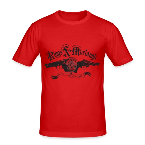 Riggs & Murtaugh (inspired by Lethal Weapon) - Men's Slim Fit T-Shirt