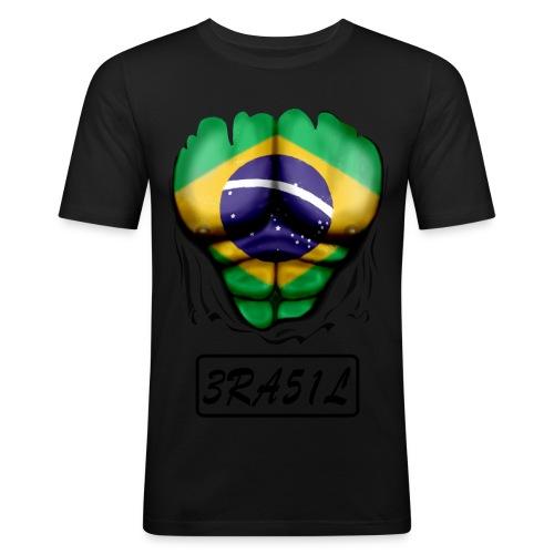 brésil - T-shirt près du corps Homme