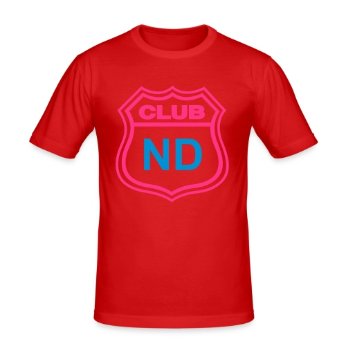 CLUB ND YELLOW - Camiseta ajustada hombre