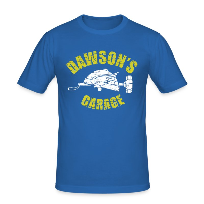 Dawson's Garage (inspired by Adventures in Babysitting) - Men's Slim Fit T-Shirt