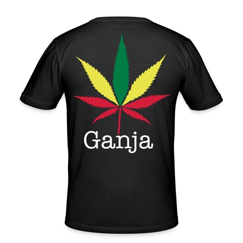Ganja Girl - Men's Slim Fit T-Shirt