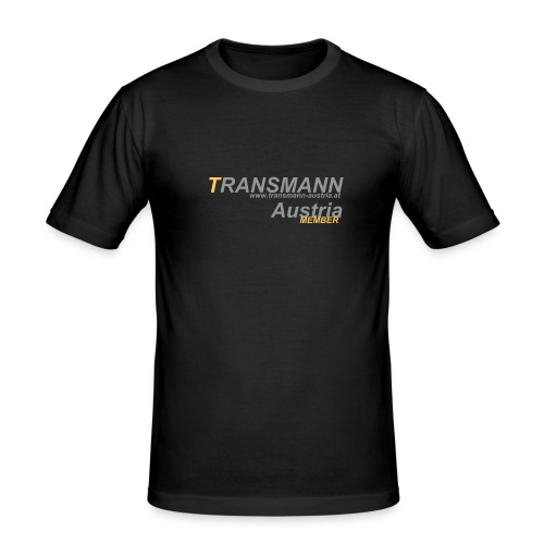 Transmann Austria - MEMBER SHIRT| Slim fit - Männer Slim Fit T-Shirt