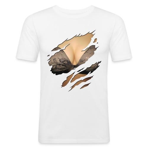 T-shirt près du corps Homme - sexy