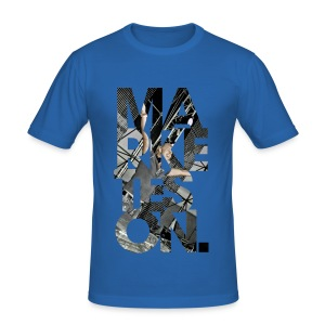 LTD Edition Slim Fit Tourwear T-Shirt - Ukraine '09 - Men's Slim Fit T-Shirt