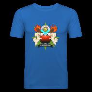 T-Shirts ~ Men's Slim Fit T-Shirt ~ Fan Made Tobuscus Coat of Arms
