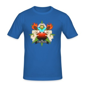 Fan Made Tobuscus Coat of Arms - Men's Slim Fit T-Shirt