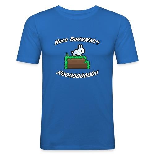 Nooo BUNNNNY! NOOOOOOOOO!! - Men's Slim Fit T-Shirt