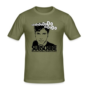 DO SUBSCRIBE - Men's Slim Fit T-Shirt