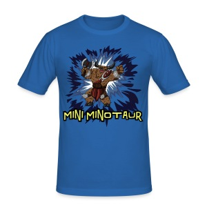Tobuscus Mini Minotaur  - Men's Slim Fit T-Shirt