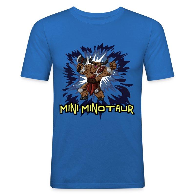 Tobuscus Mini Minotaur  - Men's Slim Fit T-Shirt