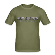 T-Shirts ~ Men's Slim Fit T-Shirt ~ GAB-USCUS (There's a pause.)