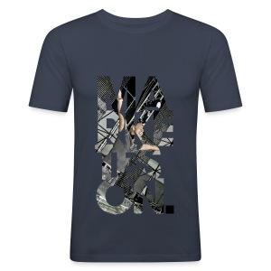 LTD Edition Slim Fit Tourwear - Ukraine '09 - Men's Slim Fit T-Shirt