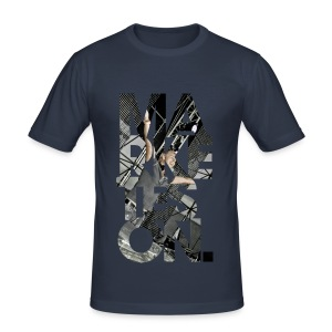 LTD Edition Slim Fit Tourwear - Ukraine '09 - Men's Slim Fit T-Shirt