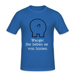 Wurstwarg - Männer Slim Fit T-Shirt