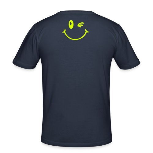 Men's Slim Fit T-Shirt - Same Lines, but different Smile!