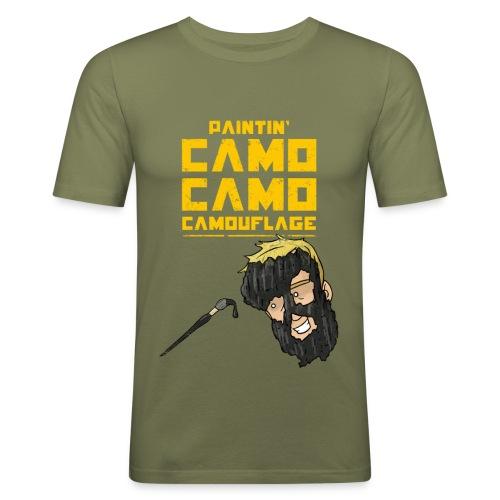 Camo - Men's Slim Fit T-Shirt