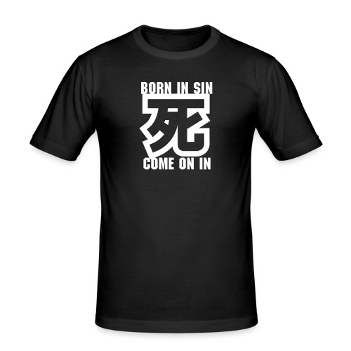 Born in Sin - Slim Fit T-shirt herr