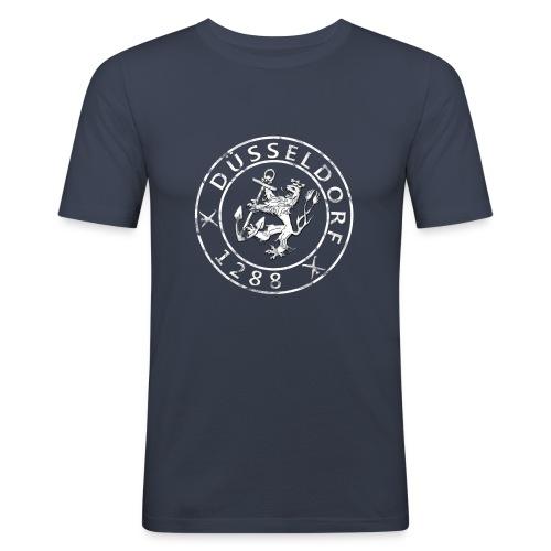 Düsseldorf 1288 Grunge - Männer Slim Fit T-Shirt