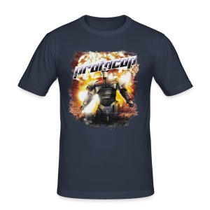 Protocop - inspired by Kiss Kiss Bang Bang - Men's Slim Fit T-Shirt