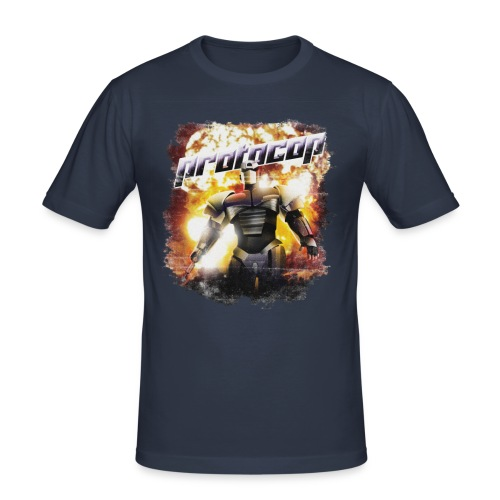 Protocop - inspired by Kiss Kiss Bang Bang - Men's Slim Fit T-Shirt