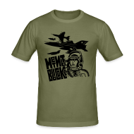 T-Shirts ~ Men's Slim Fit T-Shirt ~ Aim High (men's)