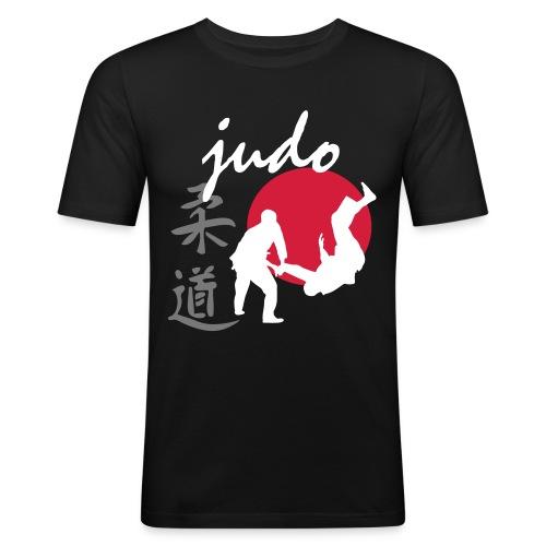 Judo-Man - Maglietta aderente da uomo