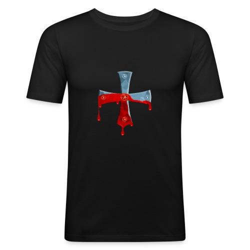 Ritterkreuz - Männer Slim Fit T-Shirt