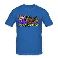 T-Shirts ~ Men's Slim Fit T-Shirt ~ Tobuscus Mini Minotaur