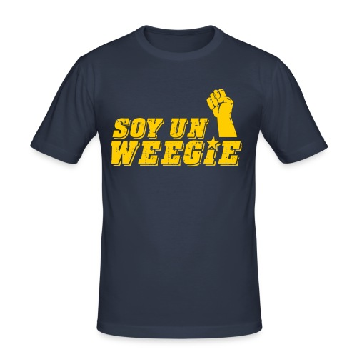 Soy Un Weegie - Men's Slim Fit T-Shirt