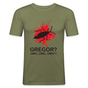 OMG, Gregor Samsa is dead! - Men's Slim Fit T-Shirt