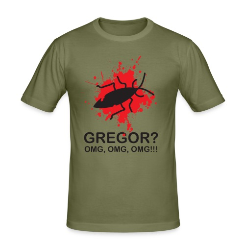 OMG, Gregor Samsa is dead! - Men's Slim Fit T-Shirt