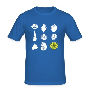 Buen Camino HQ. COMPOSTELA Ed. - Men's Slim Fit T-Shirt