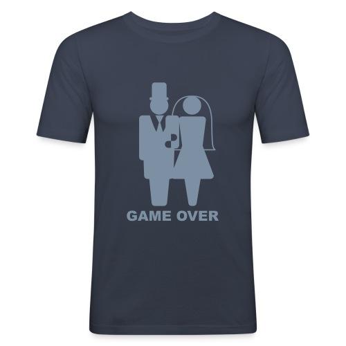 Game Over? - Männer Slim Fit T-Shirt