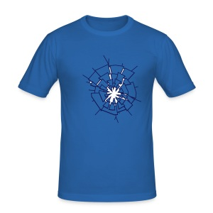 Shatter Crack Break - Men's Slim Fit T-Shirt