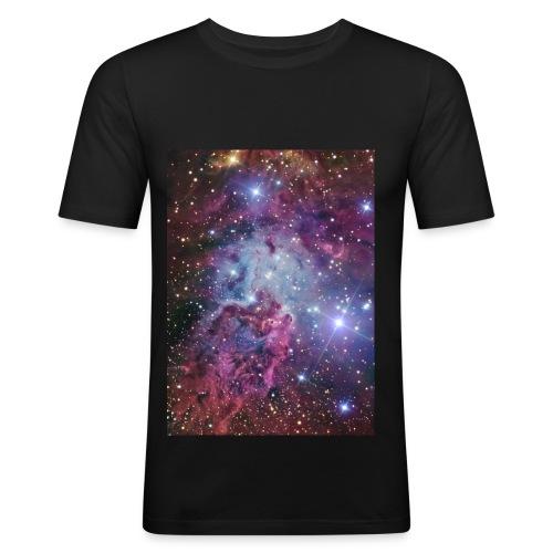 Stars and Nebulae - Men's Slim Fit T-Shirt