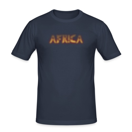 AFRICA T-SHIRT - Men's Slim Fit T-Shirt