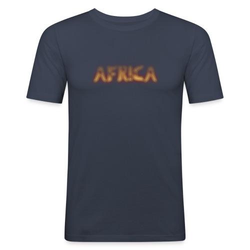 AFRICA T-SHIRT - Men's Slim Fit T-Shirt
