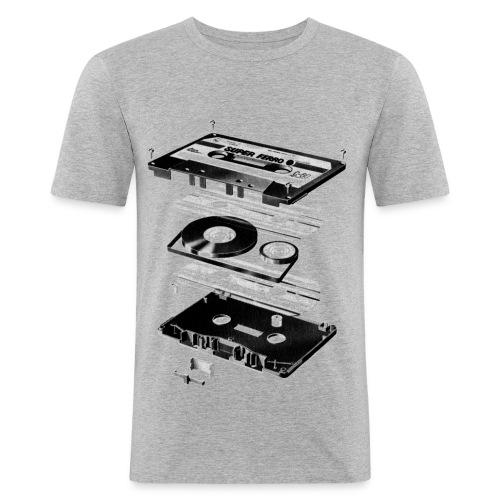 Cassette - Männer Slim Fit T-Shirt