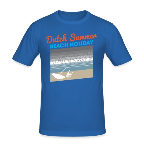 Dutch Summer mannen slimfit - slim fit T-shirt