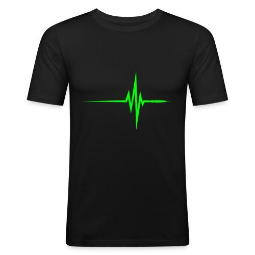T-Shirt Wave - Maglietta aderente da uomo